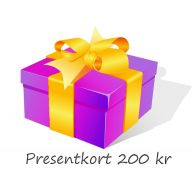 Presentkort 200 kr