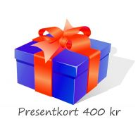 Presentkort 400 kr