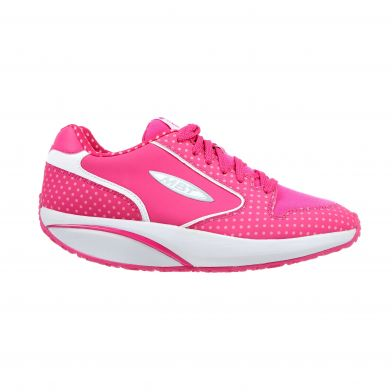 MBT 1997 Polka Dot Performance Fuschia Sneakers